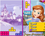 Sofia the first tetris online játék